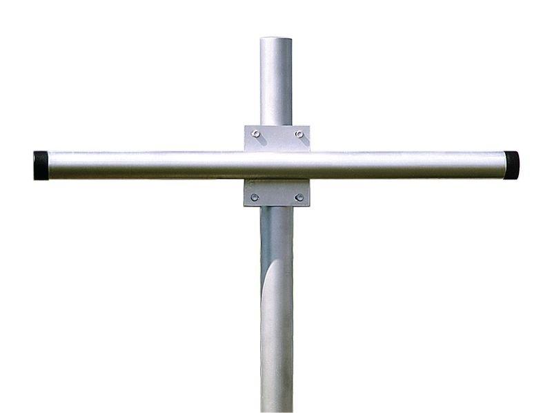 Support de fixation pour 2 miroirs en acier galvanisé