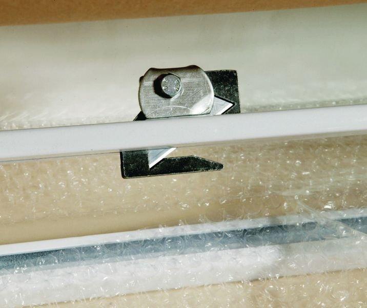 Système dérouleur et coupe de papier horizontal pour table TABEM - Seton