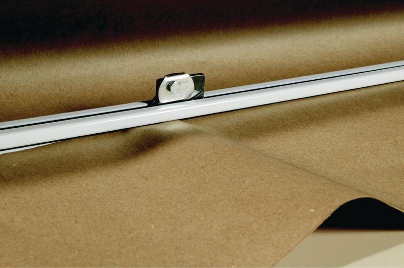 Système dérouleur et coupe de papier horizontal pour table TABEM - Distributeurs d'étiquettes, cutters de sécurité, et autres matériels de manutention