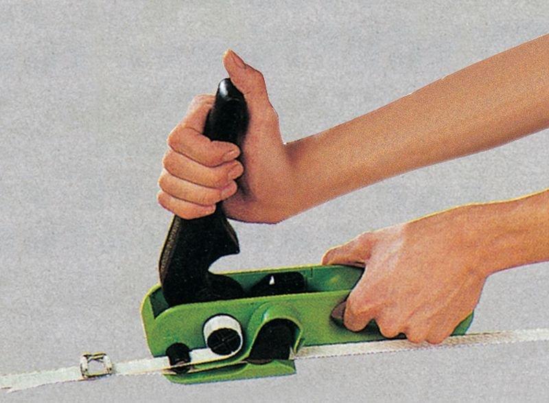 Tendeur et coupeur pour feuillard - Seton