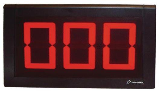 Afficheur d'appel client à 2 ou 3 chiffres