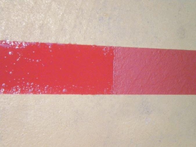 Vernis incolore en aérosol pour la protection des peintures au sol - Préparation des sols avant mise en peinture