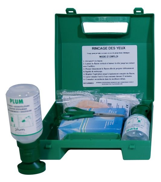Kit oculaire complet solution Saline