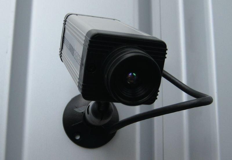 Caméra vidéosurveillance factice modèle SURE CAM - Vidéosurveillance - caméra factice - talkie-walkie