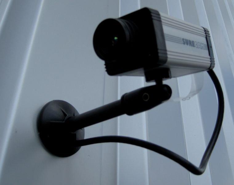 Caméra vidéosurveillance factice modèle SURE CAM - Sécurite en entreprise et Contrôle d'accès