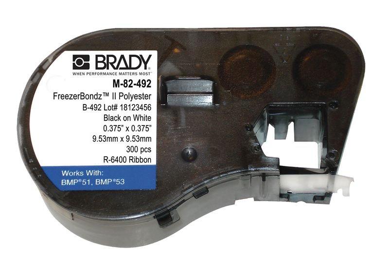 Etiquettes de capuchons de tubes de laboratoire en polyester pour imprimante BMP51 - BMP51™ étiqueteuse - imprimante et consommables