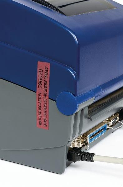 Etiquettes anti-fraude en polyester laminé infalsifiable - Entrepôt, stockage et manutention