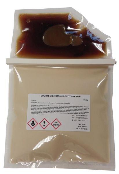 Colle bi-composant pour dalles podotactiles - Seton