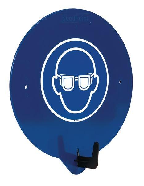 Crochet porte-EPI avec pictogramme Lunettes de protection obligatoires