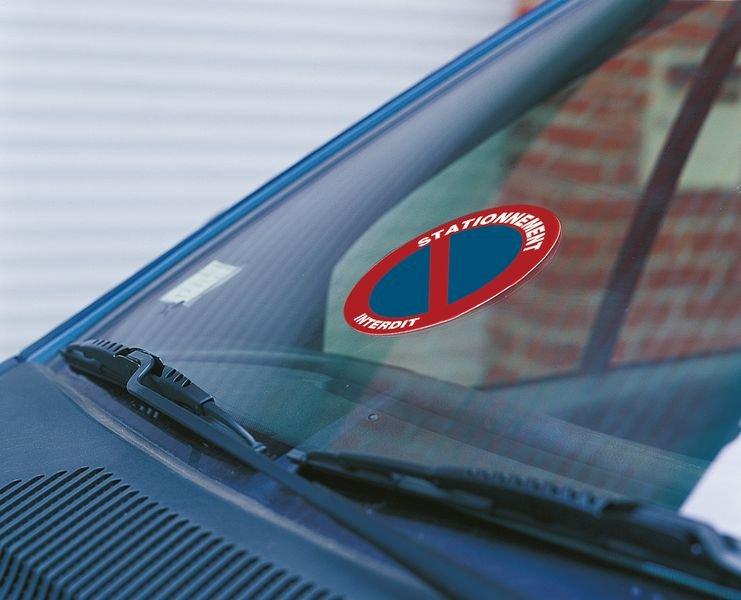 Autocollants dissuasifs Stationnement interdit - Marqueurs de tuyauteries Liquides Inflammables (CLP / SGH)
