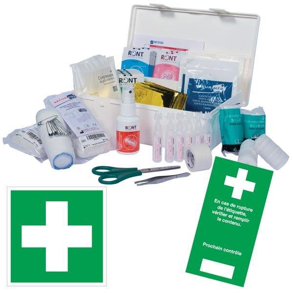 Kit de premiers secours Code du Travail classique
