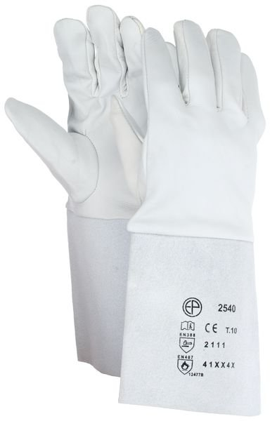 Gants anti-chaleur Eurotechnique® en cuir