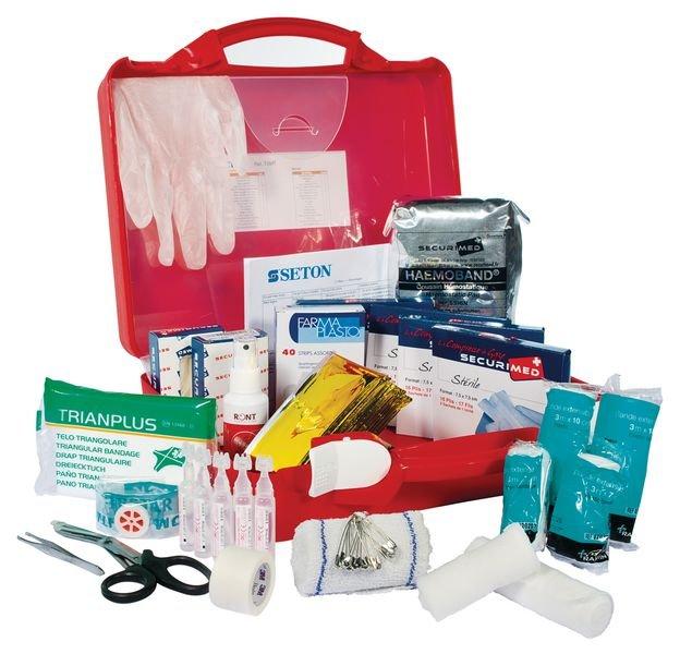 Trousse de secours médecine du travail - Trousses de secours spéciales 'Code du Travail'