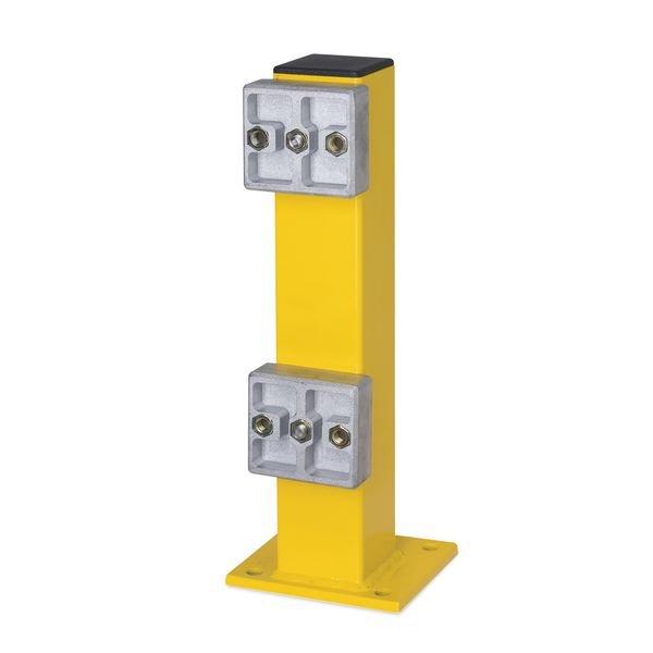 Barrière de protection basse modulable en acier