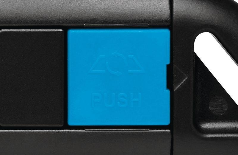 Cutter droit de sécurité avec lame rétractable semi-automatique Martor® Secunorm Profi Light - Emballage et matériel d'expédition de colis