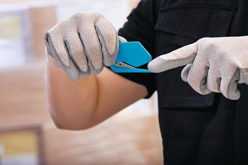 Cutter coupe-film de sécurité jetable Martor® Secumax Polycut - Distributeurs d'étiquettes, cutters de sécurité, et autres matériels de manutention