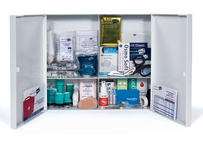 Armoire à pharmacie en plastique 2 portes