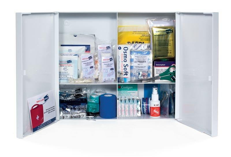 Recharge pour armoire à pharmacie en plastique milieu alimentaire