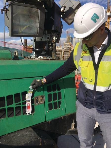 PLaquette d'inspection support MultiTag - Seton