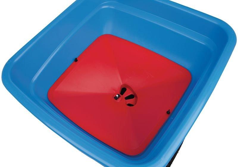 Cuve épandage 3 sorties pour épandeur à sel professionnel 36 L