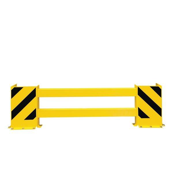 Barrière de protection réglable en longueur pour racks