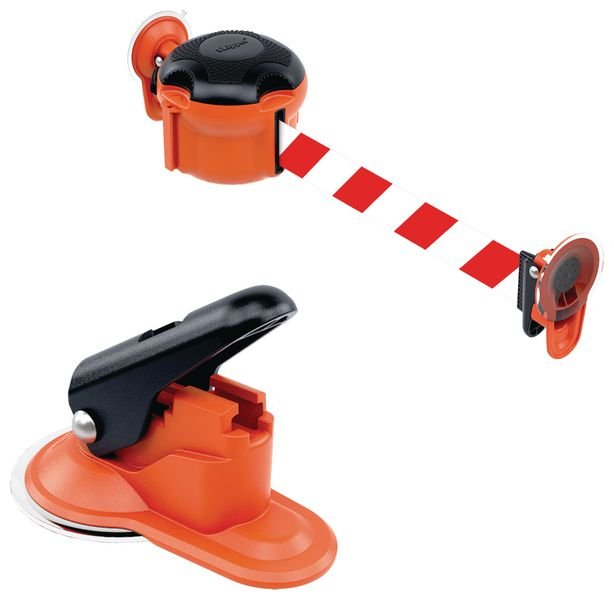 Support ventouse pour balises intérieures Skipper™ - Marquage au sol : peinture, pochoirs, clous