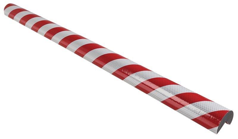 Cornière de protection réfléchissante en mousse Optichoc arrondie - coin de 35 mm