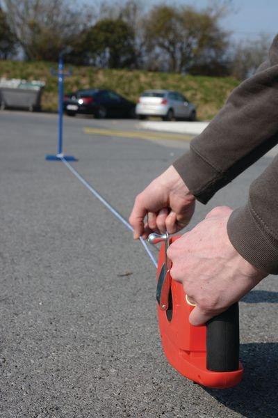 Kit de prémarquage au sol pied lesté + cordeau 50 m - Seton