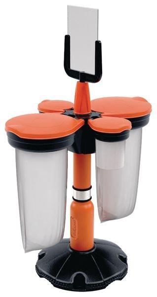 Adaptateur Skipper™ pour accrochage support sac poubelle ou distributeur d'EPI - Matériel et signalétique pour chantier