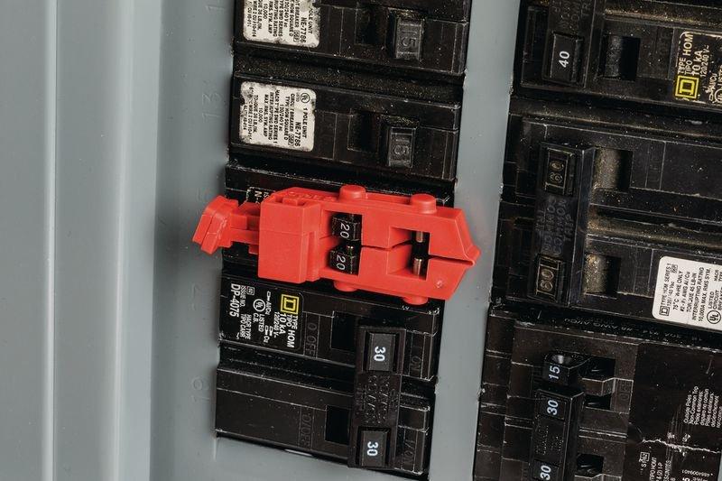 Système de condamnation TagLock™ pour disjoncteur