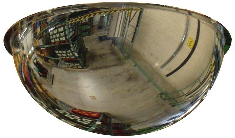 Miroirs de surveillance intérieurs hémisphériques dôme complet