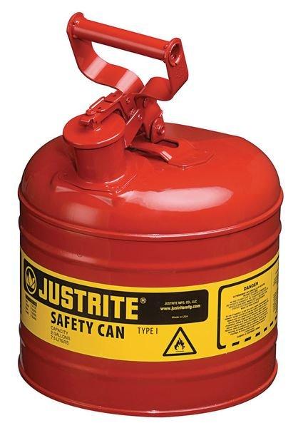 Bidons de sécurité pour produits inflammables