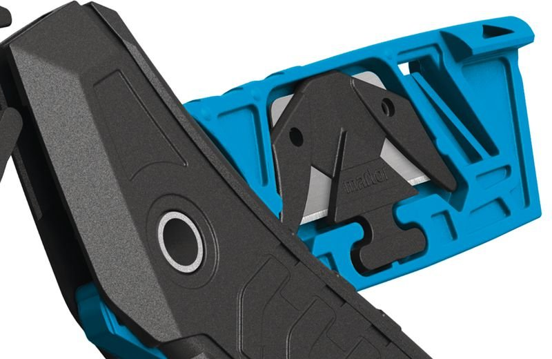 Cutter de sécurité avec lame de rechange Martor® Secumax 350 - Distributeurs d'étiquettes, cutters de sécurité, et autres matériels de manutention