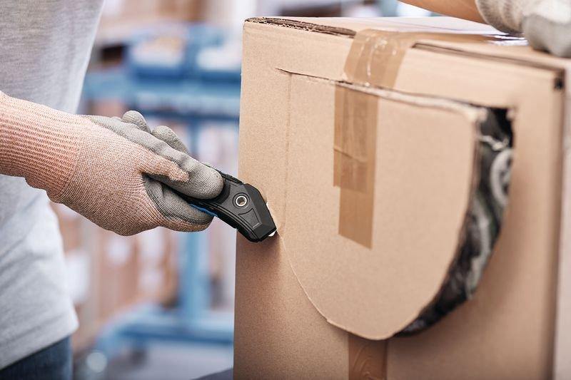 Cutter de sécurité avec lame de rechange Martor® Secumax 350