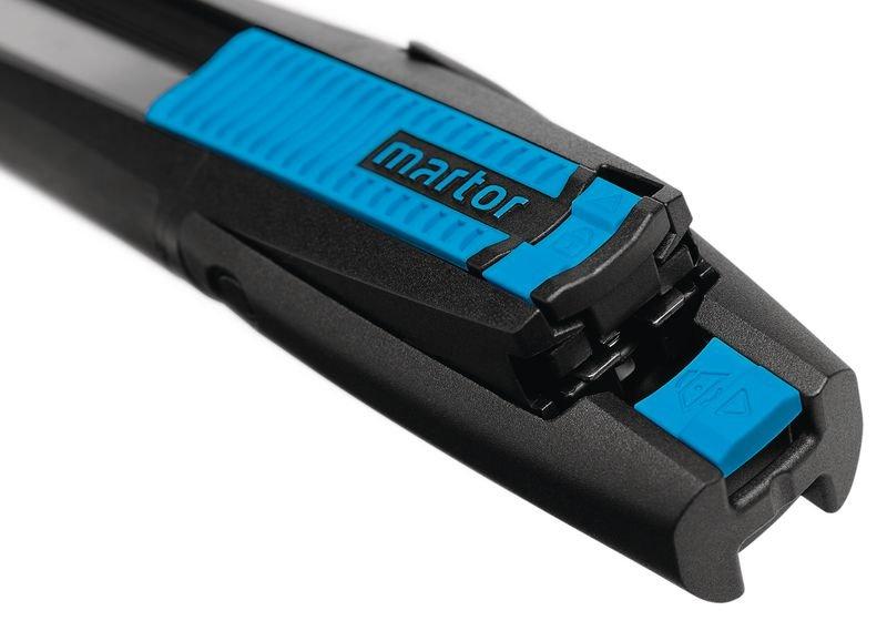 Cutter longue lame rétractable semi-automatique Martor® Secunorm 380 - Emballage et matériel d'expédition de colis