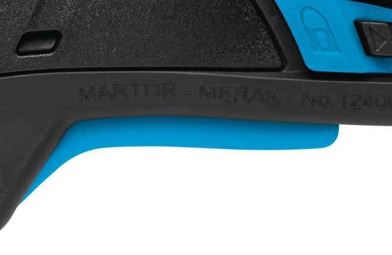 Cutter à gâchette avec lame rétractable automatique Martor® Secupro Merak - Seton