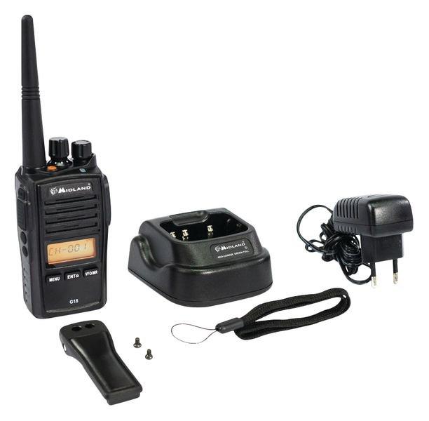 Talkie walkie robuste et étanche IP67 - Seton
