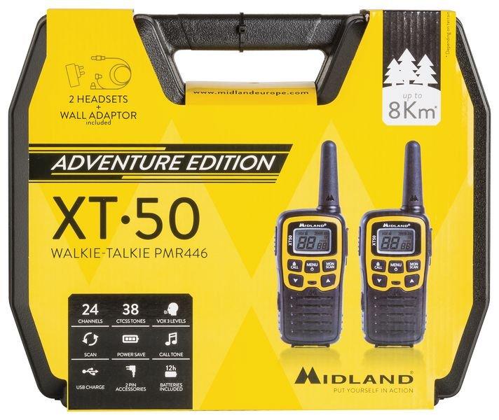 Talkies walkies avec valise et accessoires - Seton