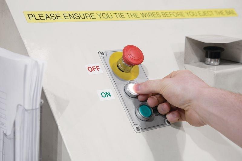 Autocollants avec texte OUI - NON - Pastilles inventaire et contrôle qualité