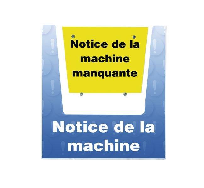 Porte-documents mural - Notice de la machine