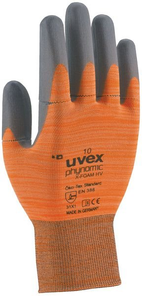 Gants haute visibilité Uvex Phynomic X-foam