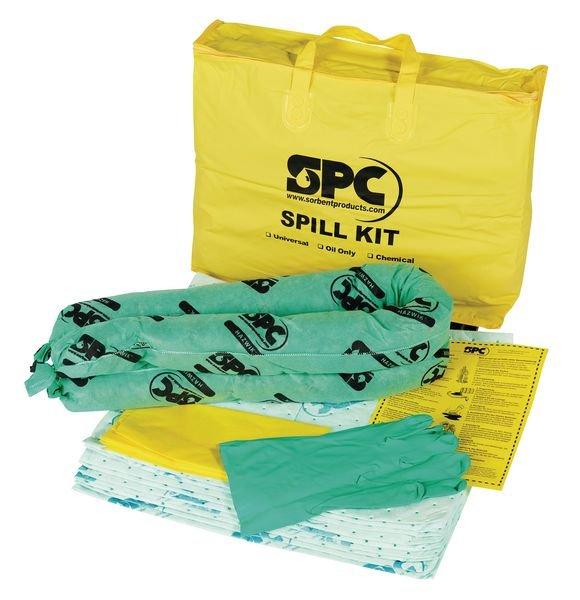 Kit absorbant produits chimiques en sac transportable - Seton