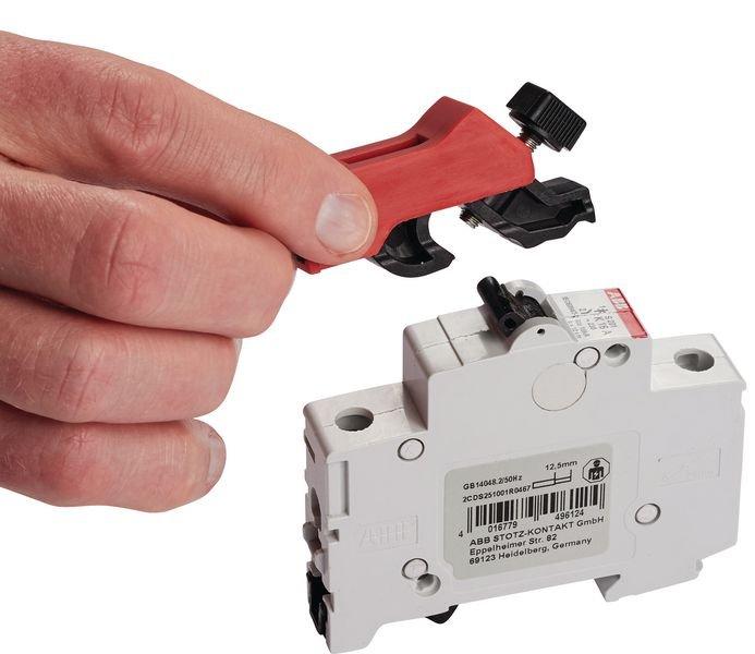 Système de condamnation de disjoncteur miniature universel - Condamnation universelle de disjoncteur électrique
