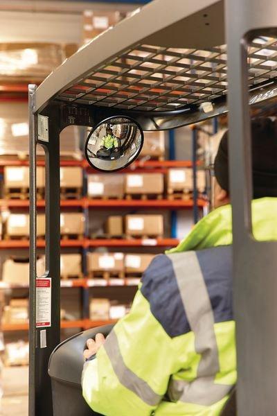 Miroir mobile à pince - Miroirs de surveillance et de sécurité