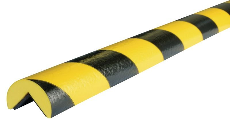 Cornière de protection magnétique en mousse Optichoc arrondie - coin de 25 mm