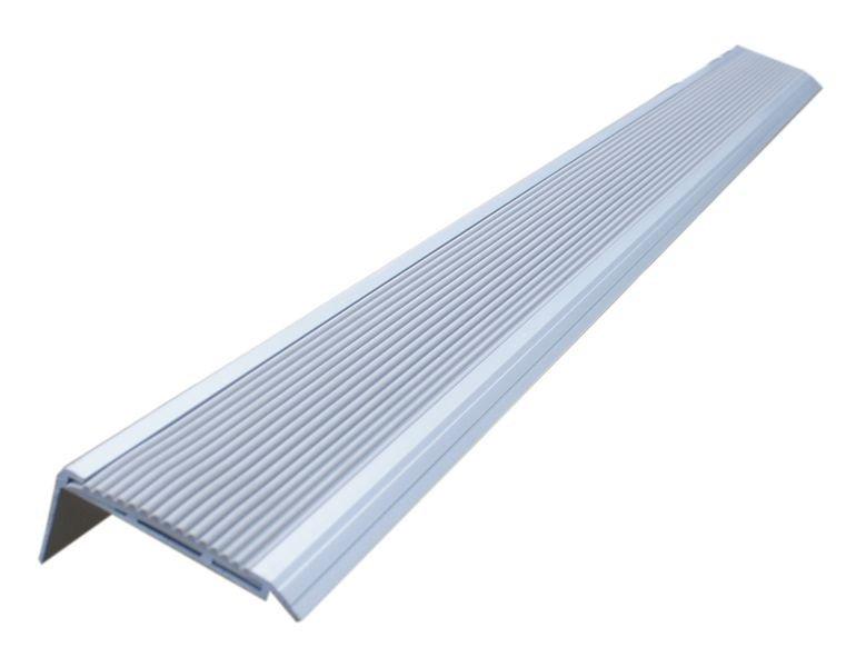 Nez de marche antidérapant - aluminium et PVC