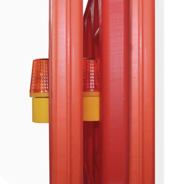 Lampe de sécurité pour barrière de chantier - Matériel et signalétique pour chantier