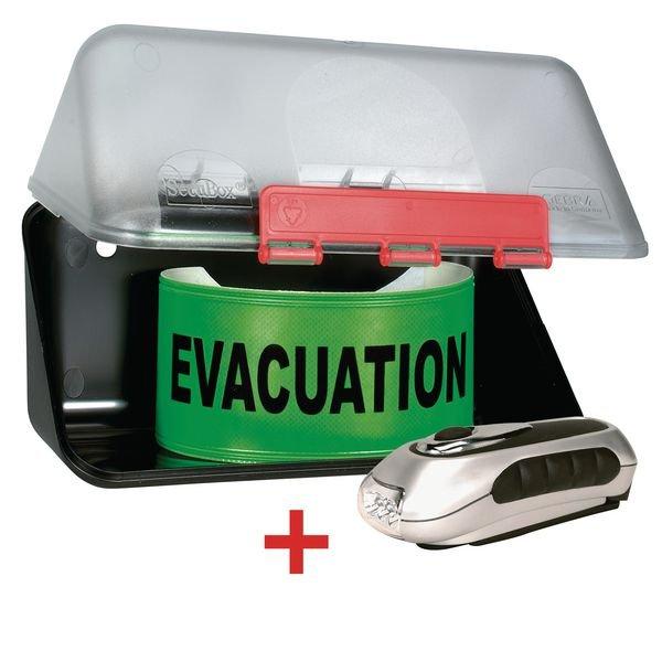 Kit pour évacuation d'urgence