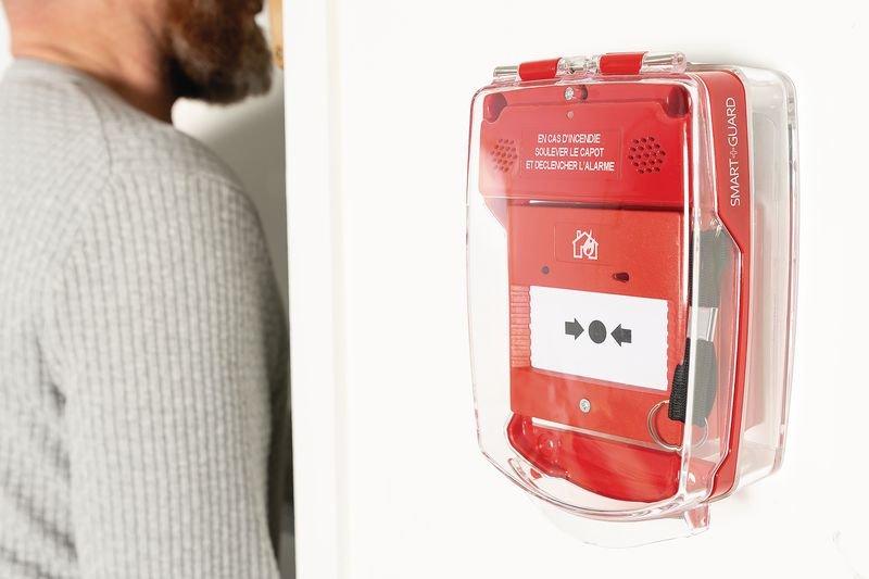 Kit alarme autonome et capot de protection - Seton