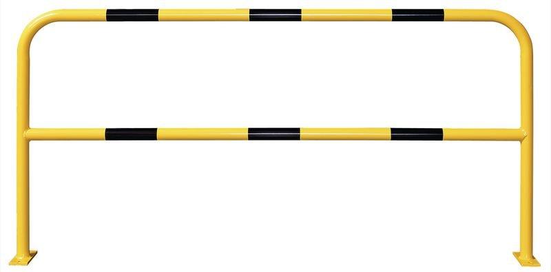 Barrières de protection en acier galvanisé avec traverse